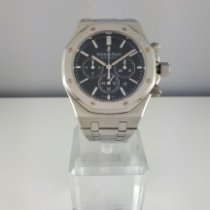 Audemars Piguet Royal Oak Chronograph Acciaio 41mm Nero Senza numeri Italia, CIVITANOVA MARCHE
