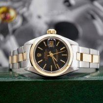 Rolex Oyster Perpetual Lady Date Oro/Acciaio 26mm Nero Senza numeri Italia, Ravenna