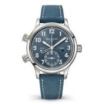 Patek Philippe Travel Time Stahl 37.5mm Blau Arabisch