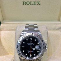 Rolex Explorer II 16570 Veldig bra Stål 40mm Automatisk