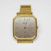 Sarcar Yellow gold 27mm Quartz new