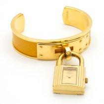 Hermès Gold/Steel 20mm Quartz KE1.210 pre-owned