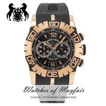 Roger Dubuis Easy Diver Rose gold 46mm Black