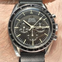 Omega Speedmaster Professional Moonwatch Steel 42mm Black No numerals Finland, Oulu