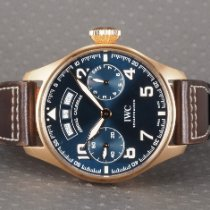 IWC Red gold Automatic Blue 46mm pre-owned Big Pilot