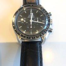 Omega Speedmaster Professional Moonwatch Staal 42mm Zwart Geen cijfers Nederland, Eemnes