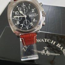 Zeno-Watch Basel Stahl 43mm Automatik 3557 gebraucht Deutschland, Weinstadt1/Beutelsbach