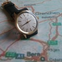 Eterna Matic Case # 25136 Very good Yellow gold 33mm Automatic