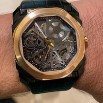 Bulgari Octo Rose gold 40mm Transparent United States of America, Pennsylvania, Philadelphia