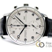 IWC Portuguese Chronograph Acero 41mm Plata Árabes España, Madrid