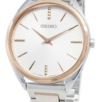 Seiko Steel 32mm Quartz SWR034P1 new
