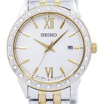 Seiko Steel 28mm Quartz SUR690P1 new