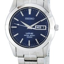 Seiko Steel 37mm Quartz SGG717P1 new