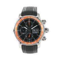 Ebel 1911 Discovery pre-owned 45mm Chronograph Rubber