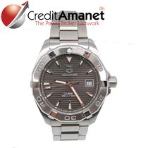 TAG Heuer pre-owned Automatic 40.5mm Grey Sapphire crystal 30 ATM