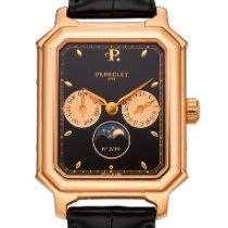 Perrelet Rose gold 34mm Automatic Moonphase pre-owned United States of America, New York, New York