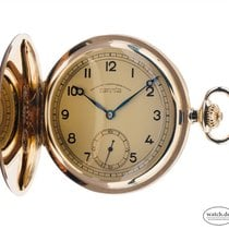 Glashütte Original Watch pre-owned 1925 Yellow gold 51mm Arabic numerals Manual winding Watch only