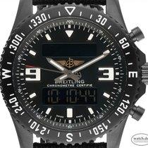 Breitling Chronospace Military Titanium 44mm Black Arabic numerals