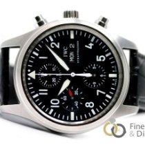 IWC Pilot Chronograph Acero 42mm Negro Árabes España, Madrid