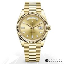 Rolex Day-Date 40 Or jaune 40mm Or