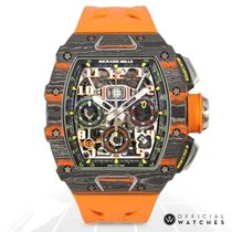 Richard Mille RM 011 RM11-03 MCL CA-FQ Unworn Carbon 50mm Automatic