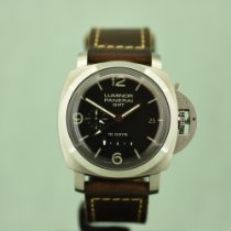 Panerai Luminor 1950 10 Days GMT Acero 44mm Negro