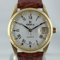 Kienzle Yellow gold 29mm Quartz new