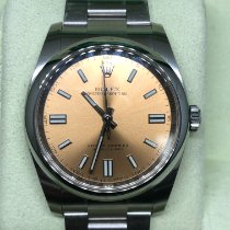 Rolex Oyster Perpetual 36 Steel 36mm Bronze No numerals United States of America, New York, New York