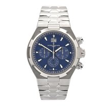 Vacheron Constantin Overseas Chronograph Steel 42mm Blue No numerals United States of America, New York, New York