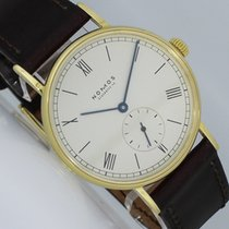 NOMOS Ludwig Or jaune 35mm Argent Romain
