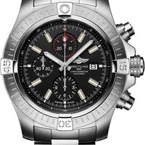 Breitling Super Avenger new 2021 Automatic Chronograph Watch with original box a13375101b1a1