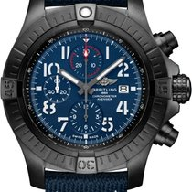 Breitling Titanium Automatic Blue 45mm new Super Avenger