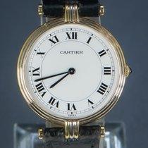 Cartier Trinity Gelbgold 30mm Weiß Römisch
