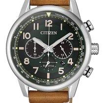 Citizen Stahl 43mm Quarz CA4420-21X neu