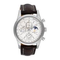 Breitling Transocean Chronograph 1461 Сталь 43mm Белый