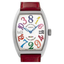 Franck Muller Crazy Hours Steel 35mm Silver Arabic numerals United States of America, Florida, Surfside