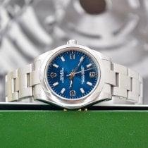 Rolex Oyster Perpetual 31 подержанные 31mm Синий Сталь