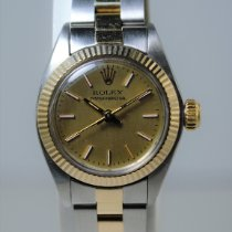 Rolex Oyster Perpetual Lady Date Otel 26mm Argint Fara cifre