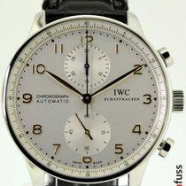 IWC Portugieser Chronograph neu 2019 Automatik Chronograph Uhr mit Original-Box und Original-Papieren IW371445
