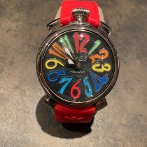 Gaga Milano Steel 40mm Manual winding 4347 pre-owned