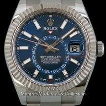 Rolex Sky-Dweller 42mm Blau Keine Ziffern