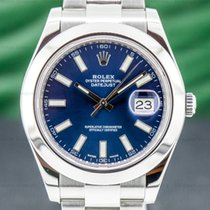 Rolex Datejust II Steel 41mm Blue Arabic numerals United States of America, Massachusetts, Boston