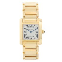 Cartier Tank Française W50003N2 1821 pre-owned