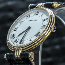 Cartier Trinity Yellow gold 30mm White Roman numerals