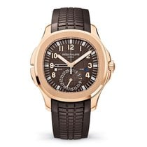 Patek Philippe Rose gold Automatic Brown Arabic numerals 40.8mm new Aquanaut