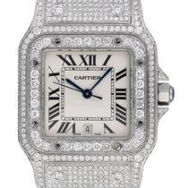 Cartier Santos Galbée новые 2019 Кварцевые Только часы W20018D6