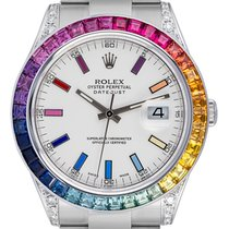 Rolex Datejust II Staal 41mm Wit