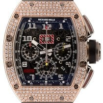 Richard Mille Red gold Automatic Transparent 40mm new RM 011