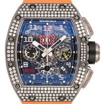 Richard Mille White gold Automatic Transparent new RM 011
