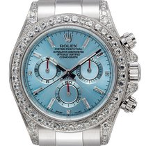 Rolex Daytona White gold 40mm Blue